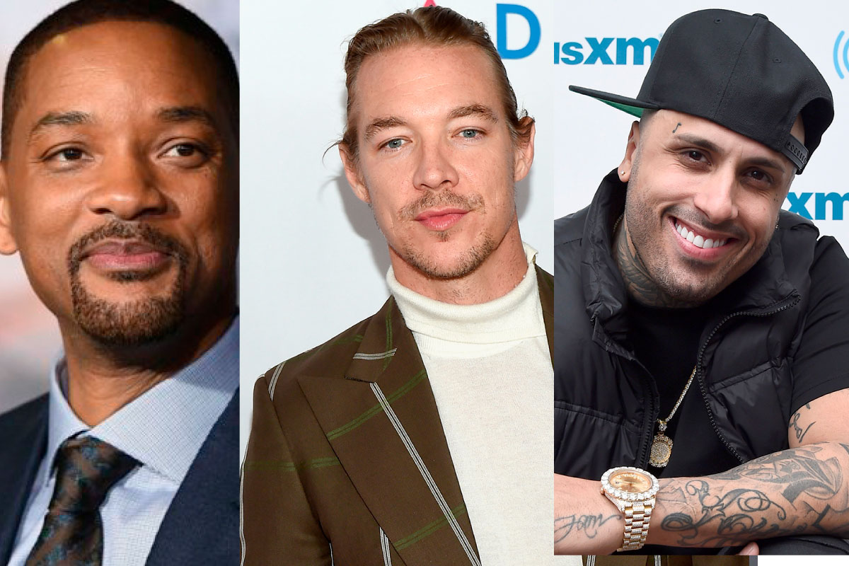 Will Smith, Nicky Jam e Diplo