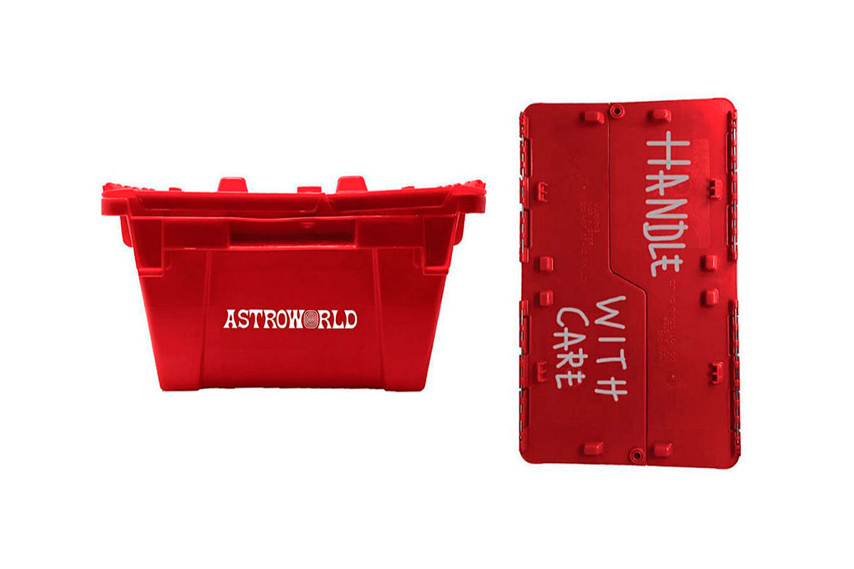 Travis Scott lança a mais recente entrega do merch Astroworld