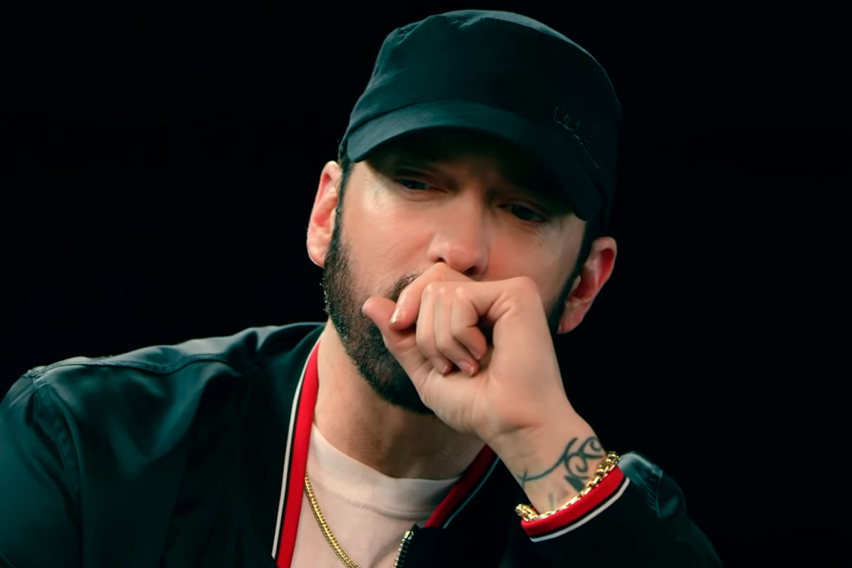 Eminem decide não responder Machine Gun Kelly