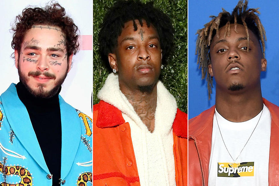 Post Malone, 21 Savage, Juice Wrld e mais na lista da Forbes
