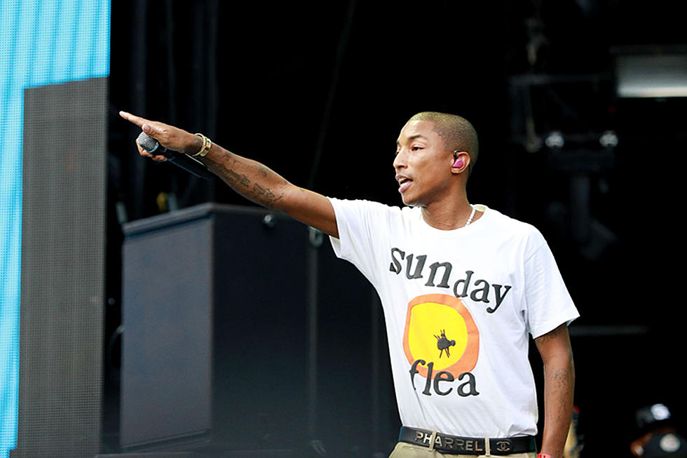 Pharrell canta Happy e Freedom no Festival Global Citizen de 2018
