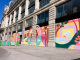 Mural de Luckylefthand para Louis Vuitton em Paris