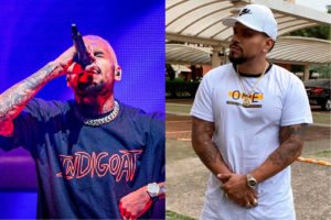 Chris Brown compartilha clipe de Naldo Benny
